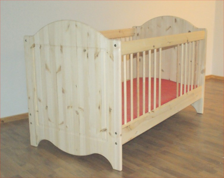 babybett landhaus dahlhaus kiefer natur lackiert babybetten. Black Bedroom Furniture Sets. Home Design Ideas
